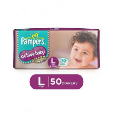 Pamper Active Baby New Born Diapers (Pack of 24)