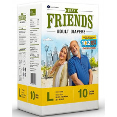 Friends Adult Diapers L - 10 nos Pads