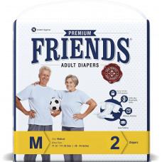 Friends Adult Diapers-m 2 Pcs