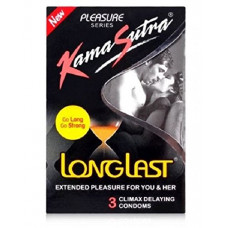 Kamasutra Longlast Pleasure Condoms (Pack of 3)
