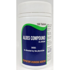 Aloes Compound Tab - 100 (Pack-100)