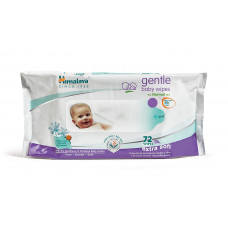 Himalaya Gentle Baby Wipes Extra Soft 72 Nos