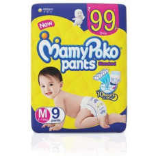 Mamy Poko Pants M 9 Nos (New 8nos) Diapers
