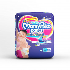 Mamy Poko Pants L 20 Nos (New 12 Nos) Diapers