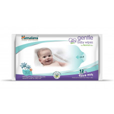 Himalaya Gentle Baby Wipes Extra Soft - 12 nos