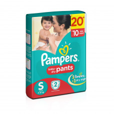 Pampers Dry Pants Small Diapers (Pack of 2)