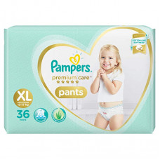 Pampers Premlum Care Pants Diapers Xl - 36