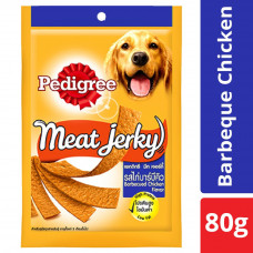 Pedigree Meat Jerky Barbeque Chicken - 80 gm