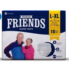 Friends L - Xl Pull Ups Diapers - 10 nos
