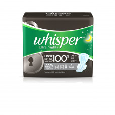 Whisper Ultra Nights XXXL With Wings (Pack of 3)