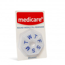 Flemlng Medicare+ Round 7-sided Weekly Pill Box (Md - 104c)