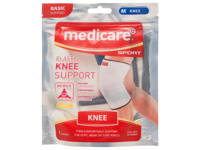 Medicare+ Sport Elasticated Knee Support Md319l/1