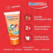 Dentoshine Gel Toothpaste Orange For Kids 80 Gm