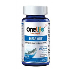 One Life Mega One Fish Oil 1000mg 60 Tablets