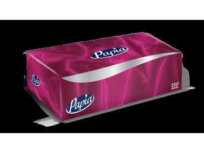 Papia Facial Tissue Box 150 Pulls