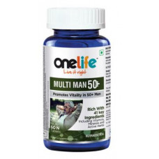 One Life Multiman 50+ 60 Tablets