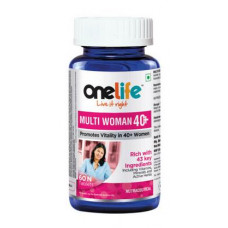 One Life Multiwoman 40+ 60 Tablets