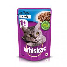 Whiskas Adult Jelly Tuna 85 gms