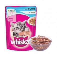 Whiskas Kitten Jelly In Tuna 85 gms