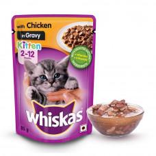 Whiskas Kitten Jelly In Chicken 85 gms