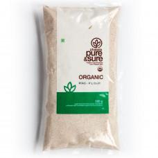 Pure & Sure Organic Ragi Flour 500 Gm