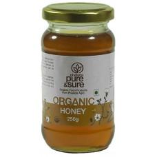 Pure & Sure Organic Honey 250 Gm