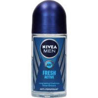 Nivea For Men Fresh Active Roll On 25 ml