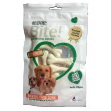 Super Dog Dental Cotton Bone Medium (Pt039) 1 Nos