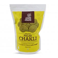 Pure & Sure Organic Palak Chakli 200 Gm