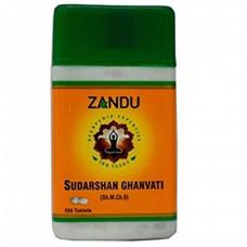 Zandu Sudarshan Ghanvati 100 Nos Tab