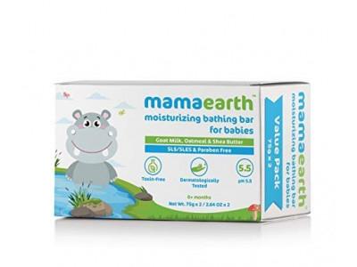 Mama Earth Baby Bathing Bar 2 Nos
