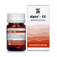 Schwabe Alpha Cc- Chronic Cough 20 gms