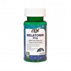 Rx Team Melatonin 3Mg 60 Tablets