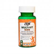 Rx Team Multivit Man 60 Tablets