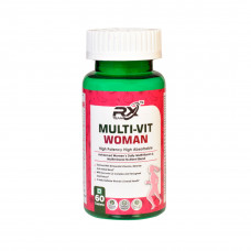 Rx Team Multivit Woman 60 Tablets
