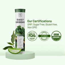 Wellbeing Nutrition Daily Greens Tablet (Pack of 15)