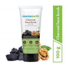Mama Earth Charcoal Face Scrub 100 gm