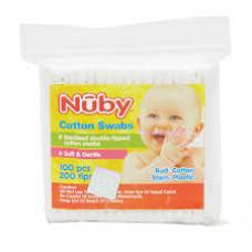 Nuby 5116 Cotton Swabs - 100 nos.