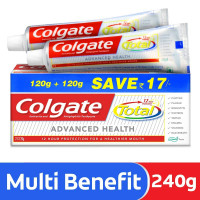 Colgate Total Advanced Health Cavity Protection Toothpaste 240 g (Pack of 2)