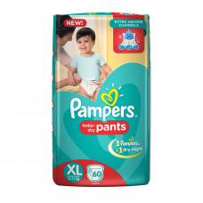 Pampers Dry Pants XL Diapers (Pack of 34)