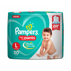 Pampers Dry Pant Small Diapers (Pack of 8)