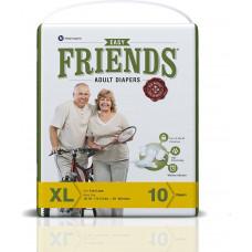 Friends Xl-xxl Adult Diapers -  10 nos