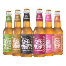 Coolberg Assorted Flavors Non-Alcoholic Beer 330 Ml