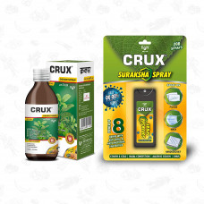 Crux Tulsi Cough Syrup 100 ml