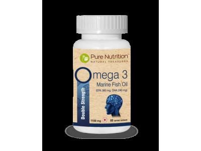 Pure Nutrition Omega-1000 mg 60 Nos Soft Gel