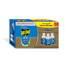 Allout Ultra 5 in 1 Mosquito Repellent Refill (Pack of 3)