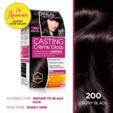 Loreal Casting Creme Gloss-200 Ebony Black - 160 ml