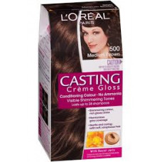 Loreal Casting Creme Gloss-500 Medium Brown - 160 ml