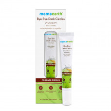 Mamaearth Bye Bye Dark Circles, Under Eye Cream for Dark Circles, with Cucumber & Peptides - 20ml, for All skin type