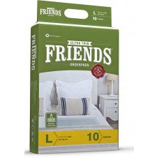 Friends Under Pad Large Pads - 10 nos